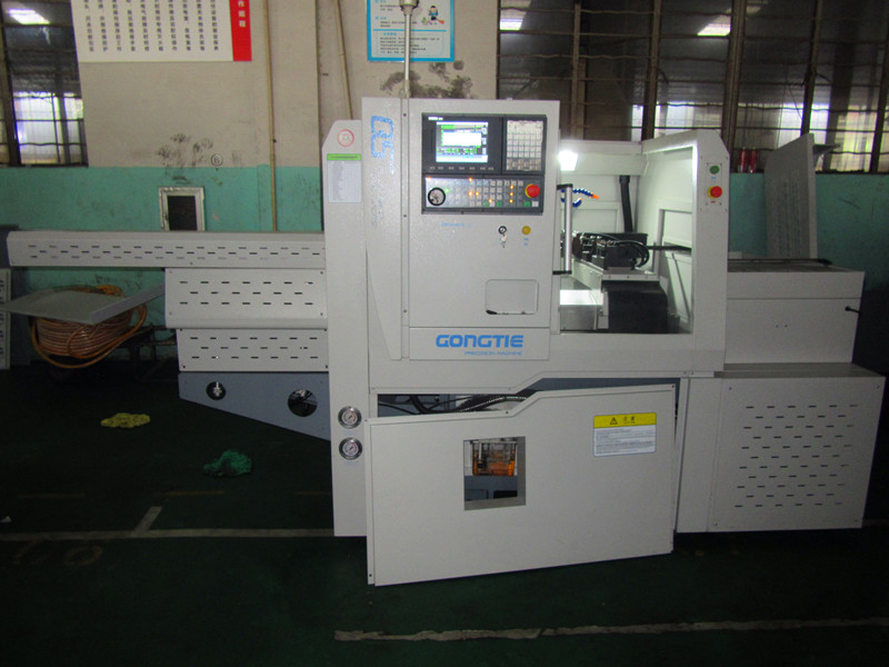 customer case :GONGTIE CNC FOR SMALL SHAFTS USED IN AUTO FIELD