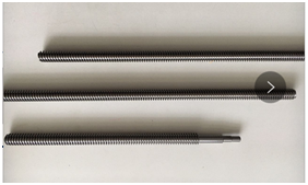 Case of high precision worm shaft