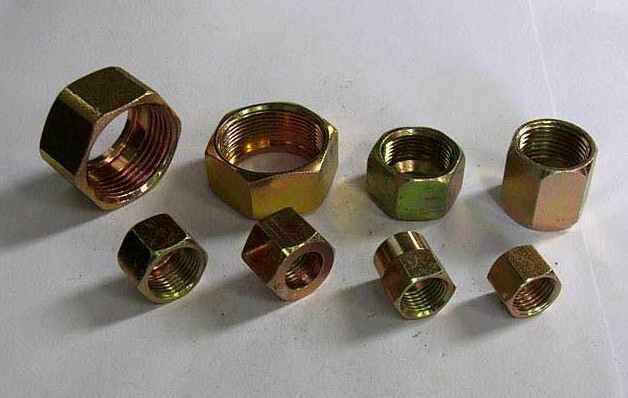 Case of hydraulic pipe fittings