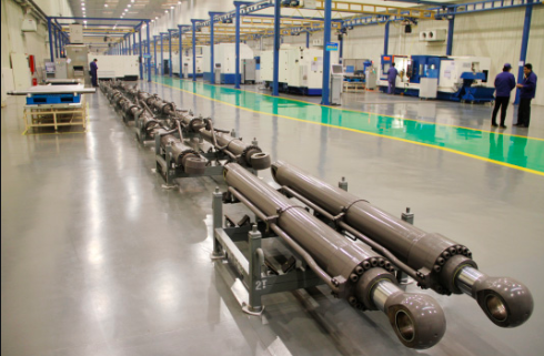 Case of hydraulic parts machining