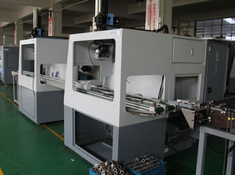 Three CNC Lathes with Gantry Loader