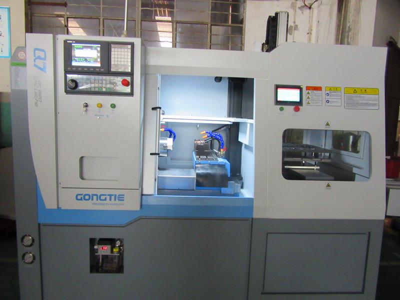customer case :CNC lathe for auto parts
