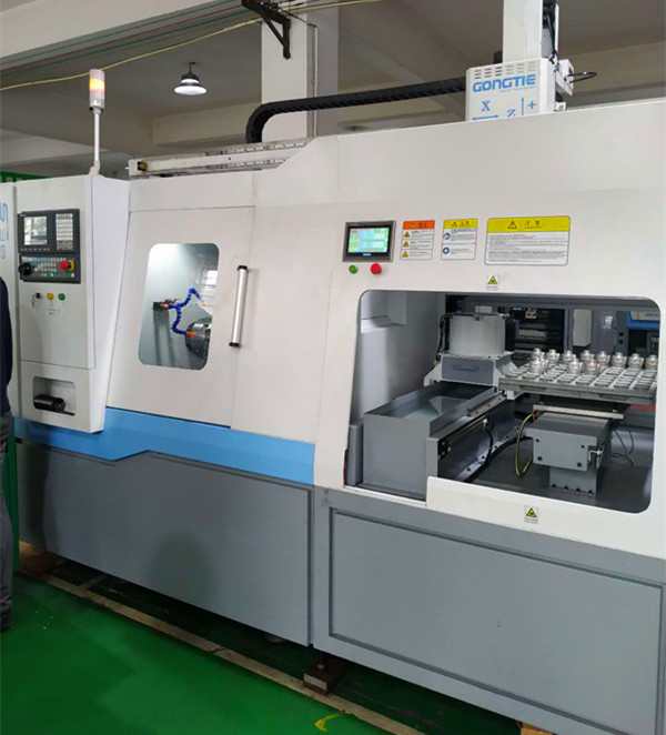 S36+7C SLANT CNC WITH GANTRY LOADER & AIR BLOWING