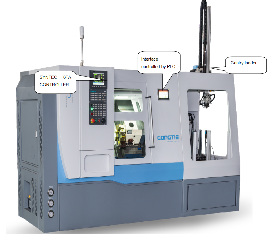 CNC S36 FOR WHEEL PROCESSING