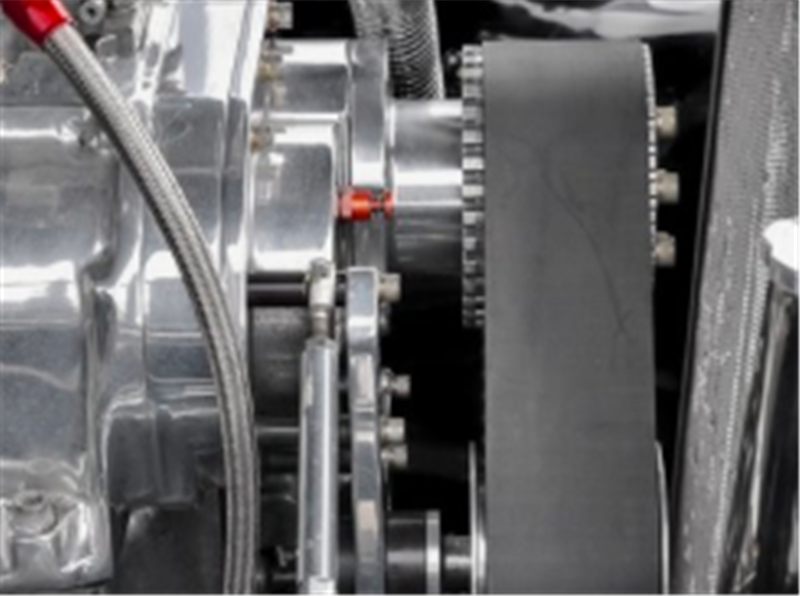 Customer case of belt gear drive accessories