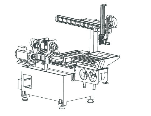 Industrial Robot for Small Shaft